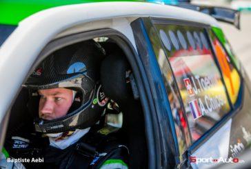 Jérémie Toedtli au volant d'une VW Polo R5 au Rallye International du Valais !
