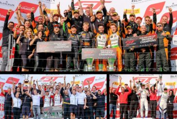Blancpain GT Wold Challenge – Orange1 FFF Racing Lamborghini duo Caldarelli and Mapelli crowned Blancpain GT World Challenge Europe champions at Hungaroring