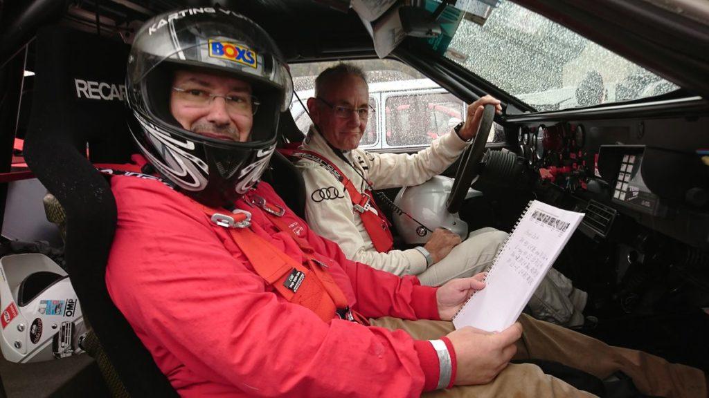 Aux côtés de Harald Demuth au Rallye international du Valais