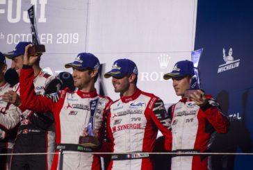 Rebellion Racing sur la troisième marche du podium des 6 Heures de Fuji