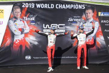 WRC – Ott Tänak champion 2019