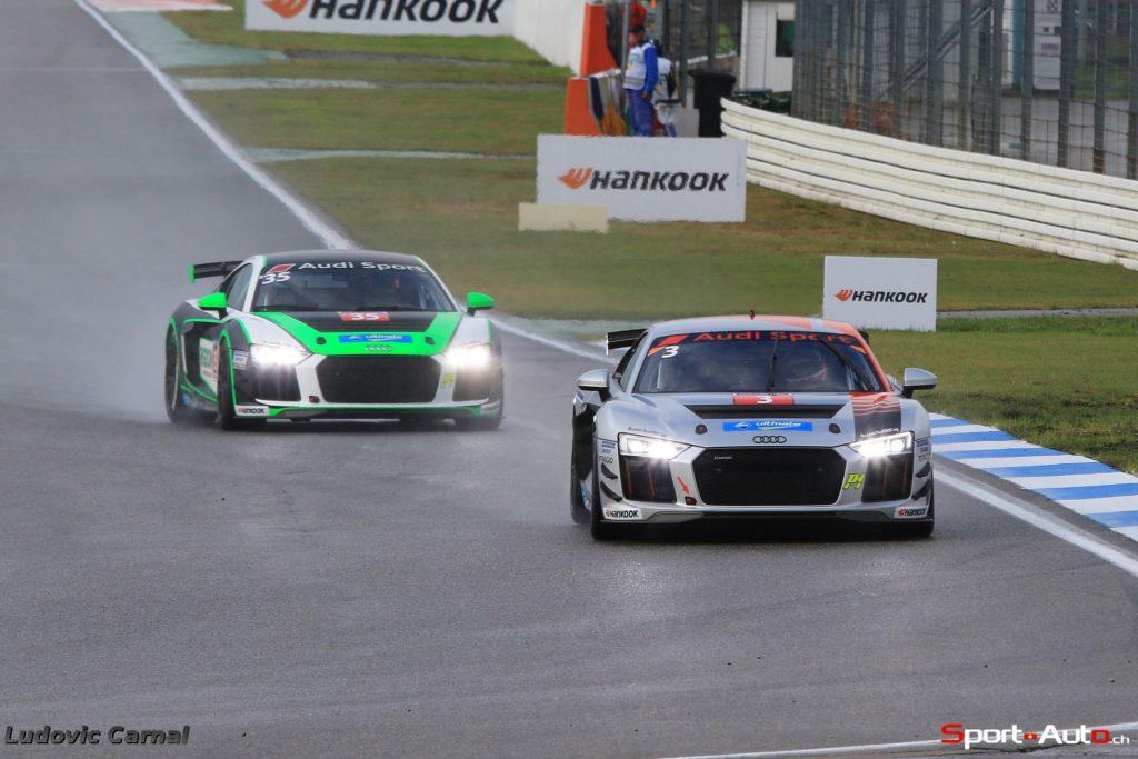 Audi Seyffarth R8 LMS Cup _ Doublé suisse à Hockenheim, Rahel Frey s'impose devant Rudolf Rhyn