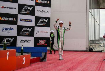 Formule 4 – Axel Gnos sur le podium à Portimao