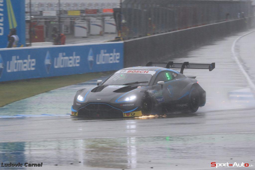 DTM - Weiteres Top-8-Resultat für den Aston Martin Vantage DTM zum Abschluss der Debütsaison