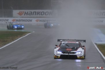 Turbulent, rain-soaked race to finish the DTM season: Glock best-placed BMW driver in fourth