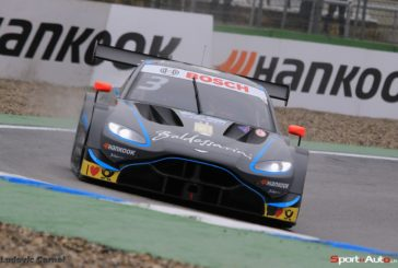 Paul Di Resta fährt im Aston Martin Vantage DTM auf Platz sieben