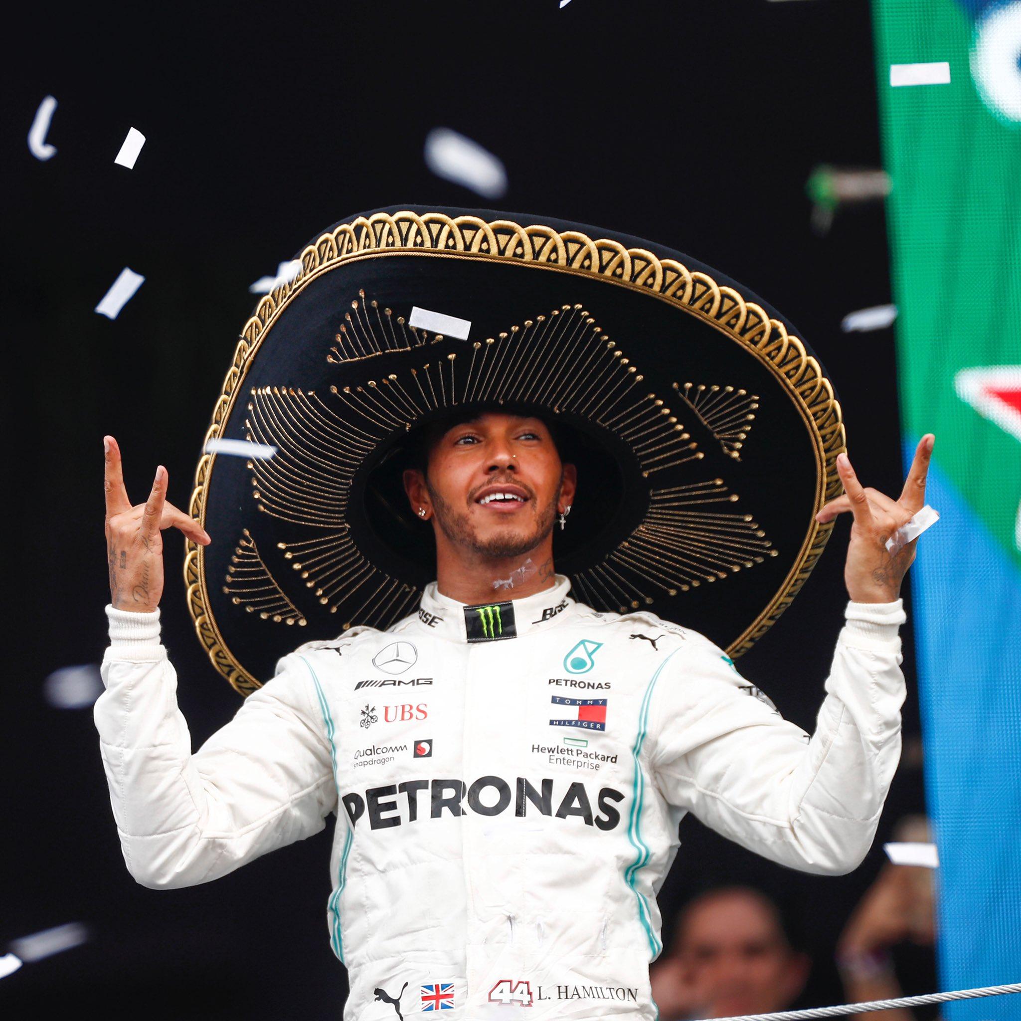 F1 – GP du Mexique:  Lewis Hamilton offre la 100ème victoire à Mercedes. Grosjean et Alfa Romeo souffrent encore
