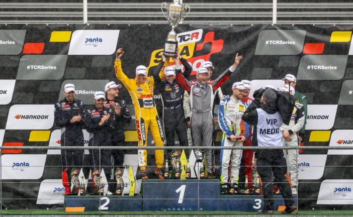 Red Camel-Jordans.nl erster Gesamtsieger der TCR Spa 500, Podestplatz für Fabian Danz und Julien Apotheloz