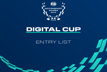 31 competitors to challenge for gold in Digital Cup