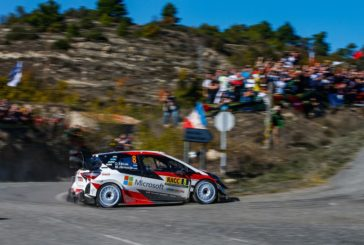 Tänak closes in as the Toyota Yaris WRC shows its asphalt speed