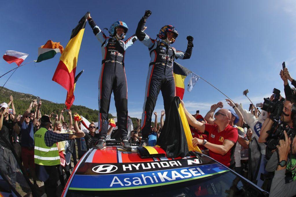 WRC - Hyundai und Thierry Neuville siegen in Spanien