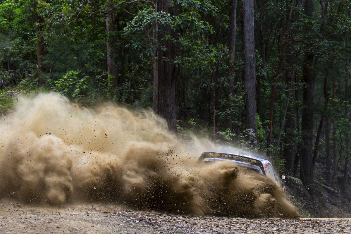 WRC – Le Rallye d'Australie annulé