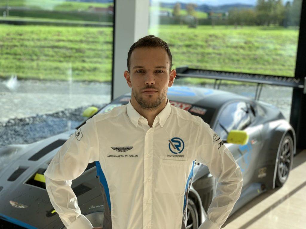 Luca Ghiotto verstärkt R-Motorsport Aston Martin GT3-Programm