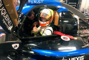 Un test concluant pour Lucas Légeret en LMP2