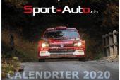 Offrez-vous le calendrier Sport-Auto.ch 2020 !