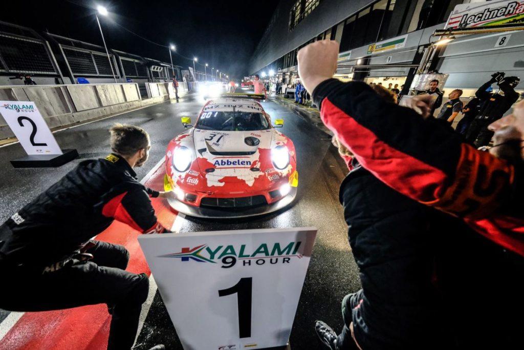 Porsche and Olsen win Kyalami 9 Hour to seal Intercontinental GT Challenge