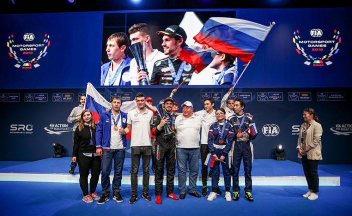 Russia wins inaugural FIA Motorsport Games at Vallelunga