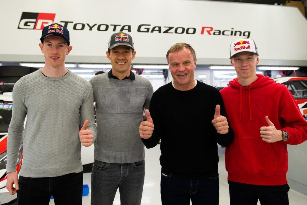 WRC – Sébastien Ogier, Elfyn Evans et Kalle Rovanperä chez Toyota Gazoo Racing en 2020