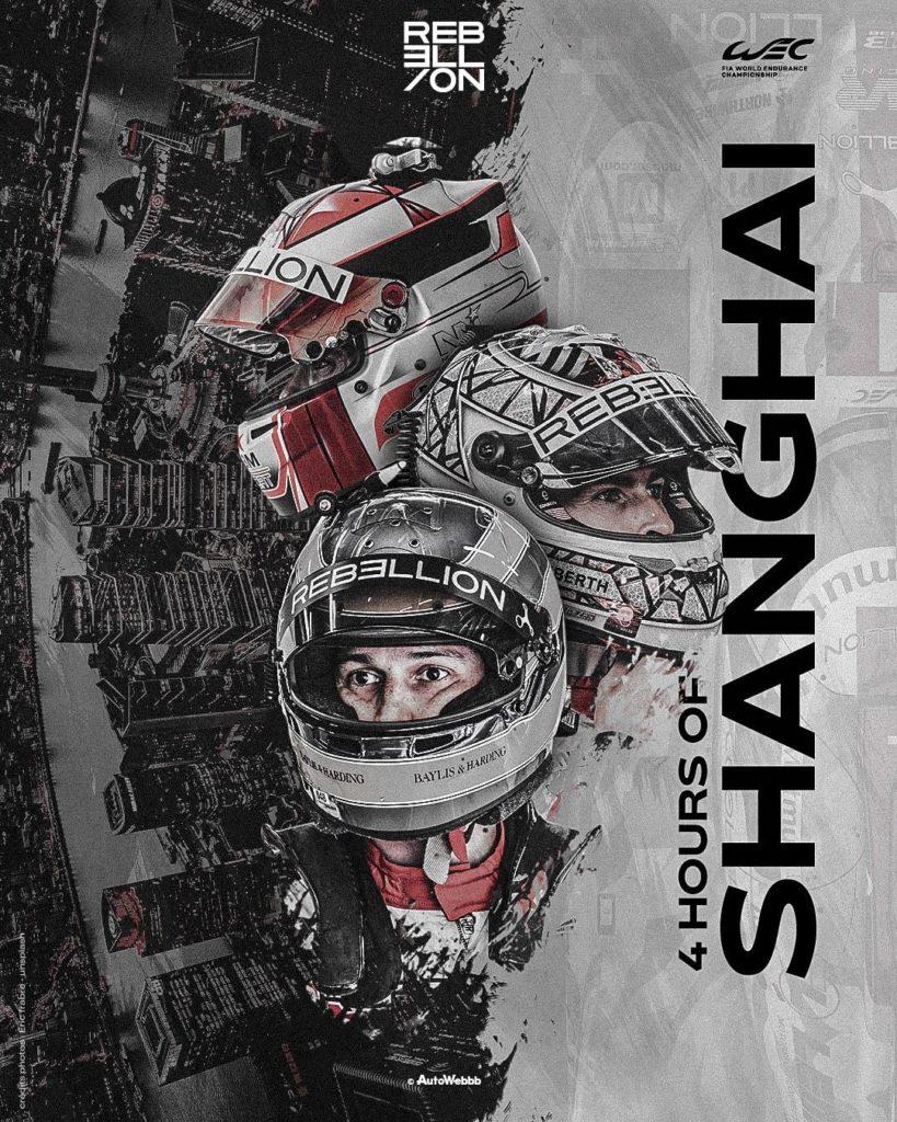 Direction les 4 Heures de Shanghai pour Rebellion Racing