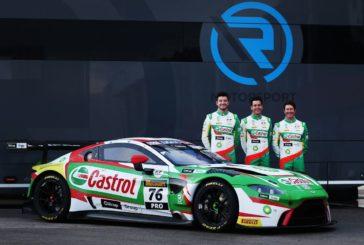 R-Motorsport startet mit Rick Kelly, Scott Dixon und Jake Dennis in einem von zwei eingesetzten Aston Martin Vantage GT3 in der neuen Partnerschaft mit Castrol, BP und der Giltrap Group bei den Liqui-Moly Bathurst 12 Hours