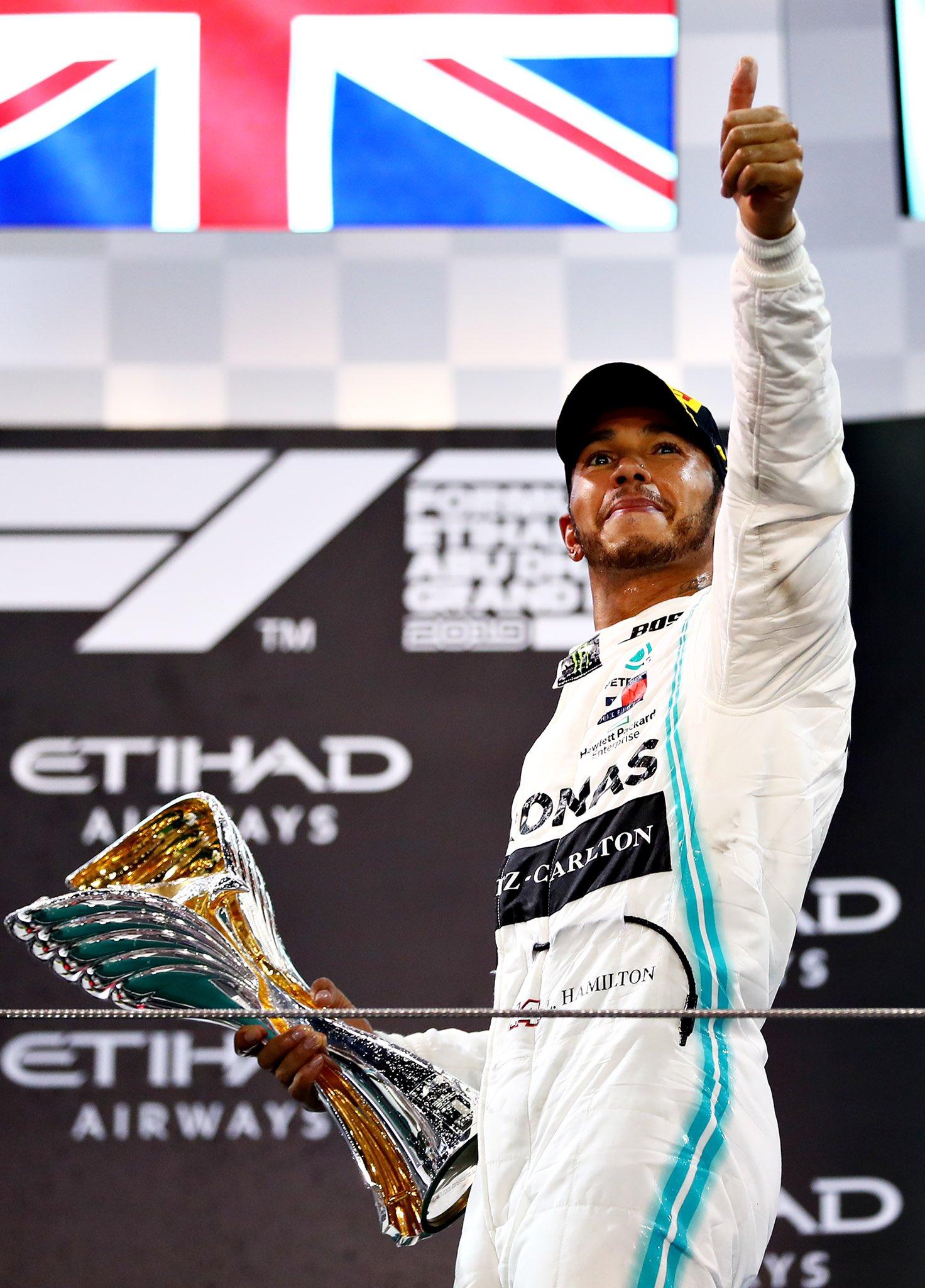 F1 – GP d'Abu Dhabi: Hamilton étrenne son titre. Fin de saison dans l'anonymat pour Alfa Romeo Sauber et Romain Grosjean
