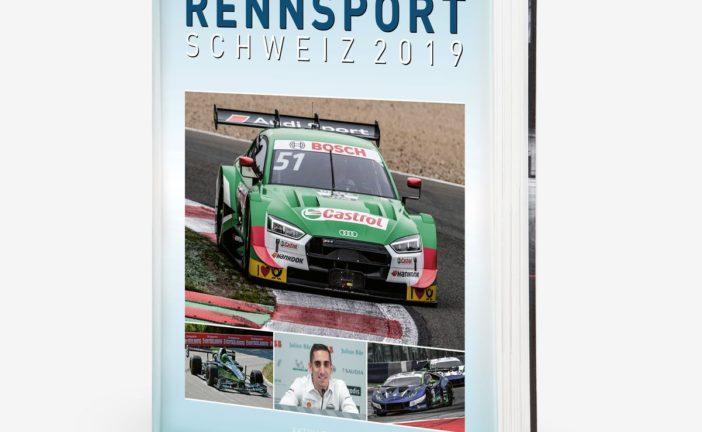 Jahrbuch RENNSPORT SCHWEIZ – alles über den Motorsport 2019