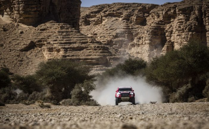 Front runners feel the heat on scorching Stage 9 at 2020 Dakar Rally