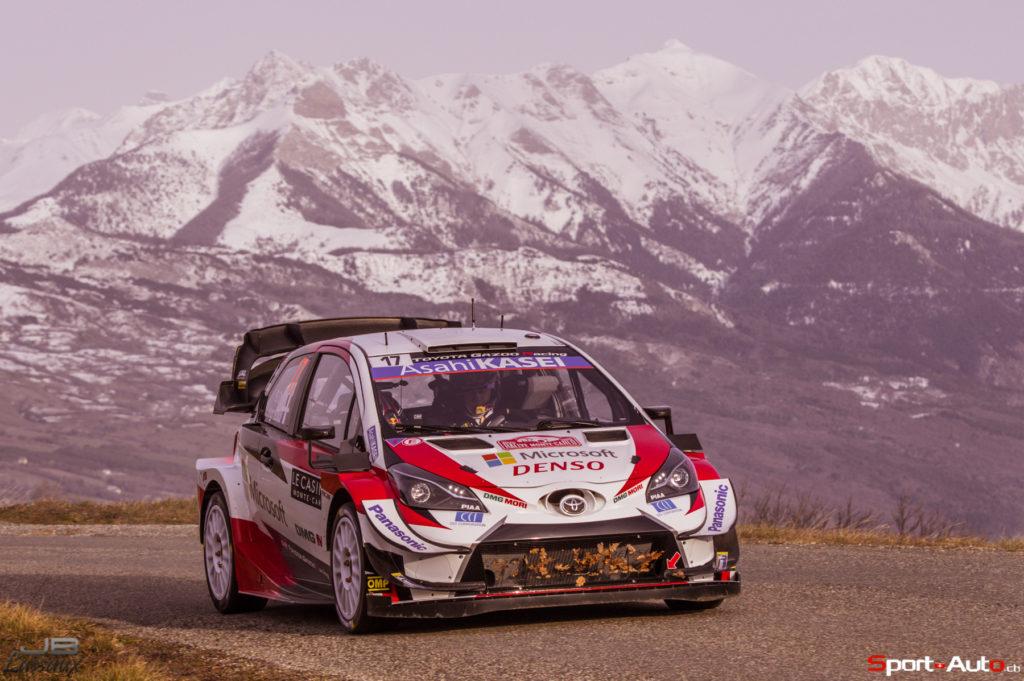 Rallye Monte-Carlo – Sébastien Ogier ouvre le bal au shakedown, première galère pour Olivier Burri, bon débuts pour Ismaël Vuistiner