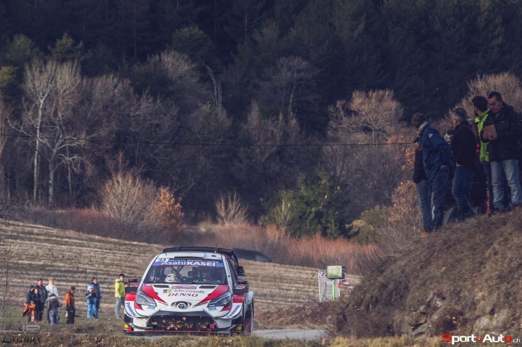 WRC - Evans leads a close fight into the final day for Toyota Gazoo Racing