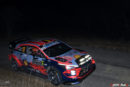 Hyundai Motorsport has taken an early provisional lead of Rallye Monte-Carlo, the opening event of the 2020 FIA World Rally Championship