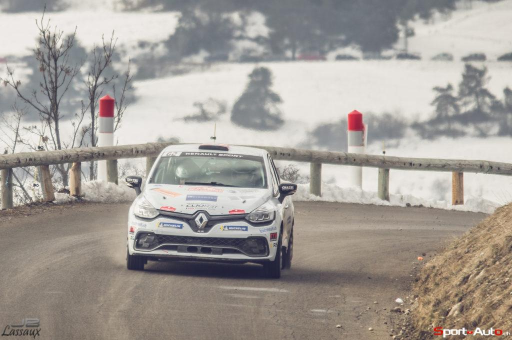 Monte-Carlo: Ismaël Vuistiner mène la classe RC3 avant la dernière étape, Sacha Althaus continue sur sa lancée