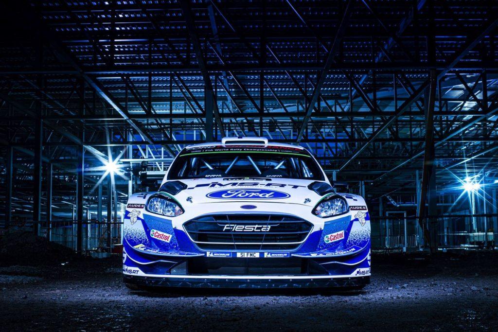 WRC – M-Sport Ford dévoile une magnifique livrée pour les Fiesta en 2020
