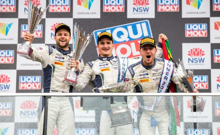 Bentley's Gounon, Pepper and Soulet win at Bathurst