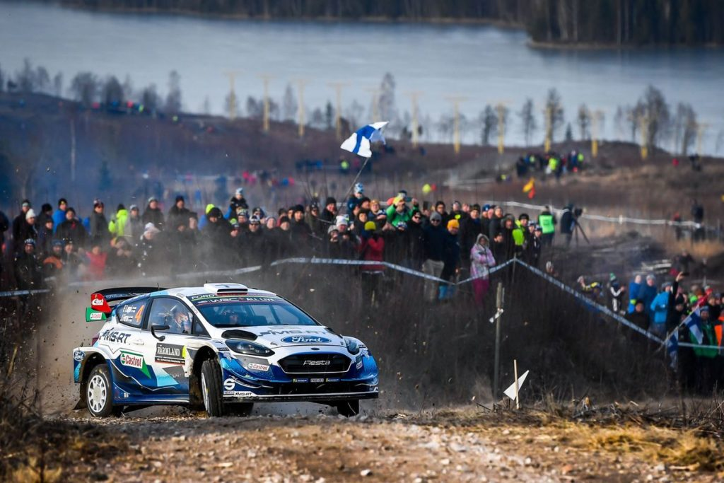 WRC - Lappi takes fifth in Sweden