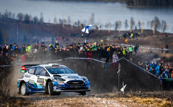 WRC – Lappi takes fifth in Sweden