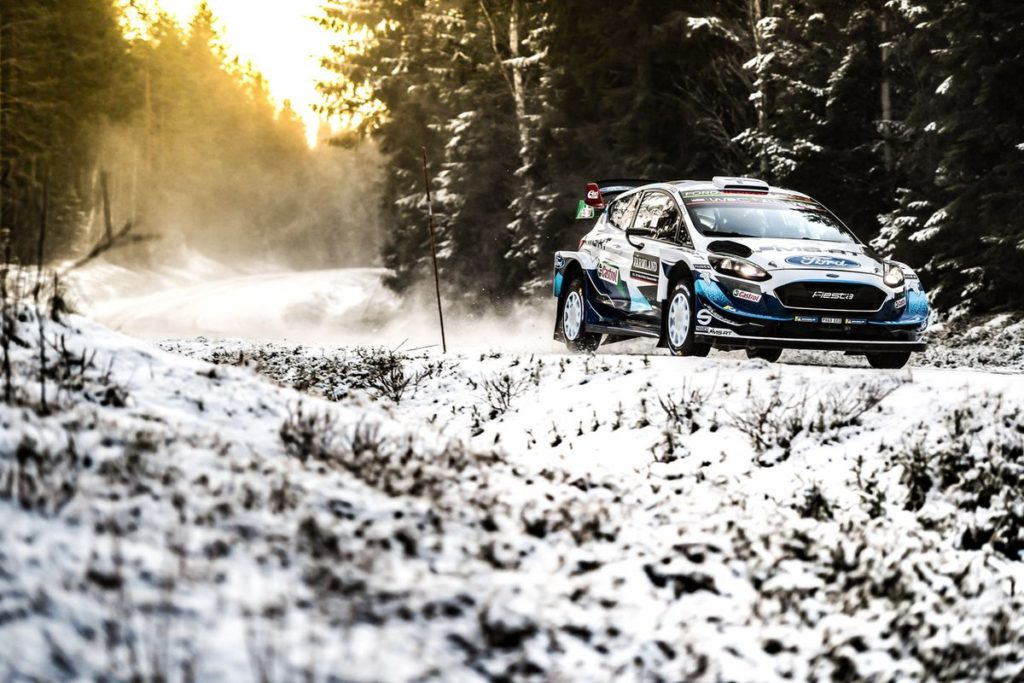 WRC - Keeping the podium in sight
