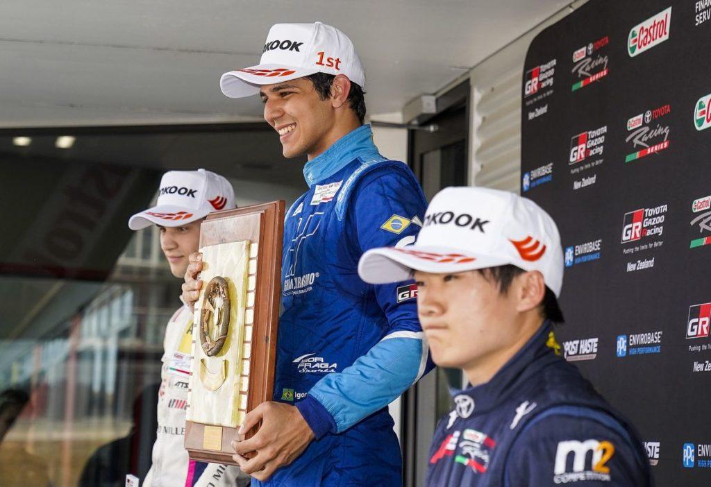 Castrol Toyota Racing Series: Grégoire Saucy confirme, Alex Gnos joue de malchance