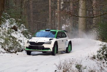10 Škoda crews competing at Rally Sweden – Youngster Oliver Solberg debuts with his Škoda Fabia Rally2 evo