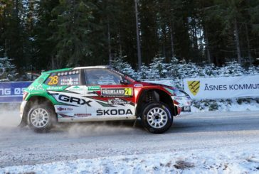 WRC 2 – Rally Sweden: Škoda privateer Emil Lindholm leads WRC3 – Oliver Solberg with good Škoda debut