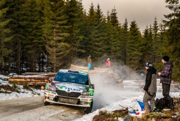 WRC – Škoda privateer Lindholm in fight for victory – Solberg holds third at Škoda debut