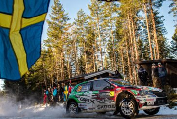 Škoda privateer Emil Lindholm leads WRC3 – Oliver Solberg with good Škoda debut