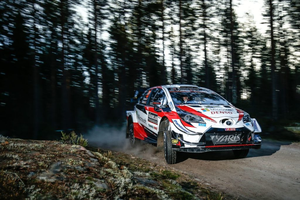 WRC - Evans leads a strong start for Toyota Gazoo Racing