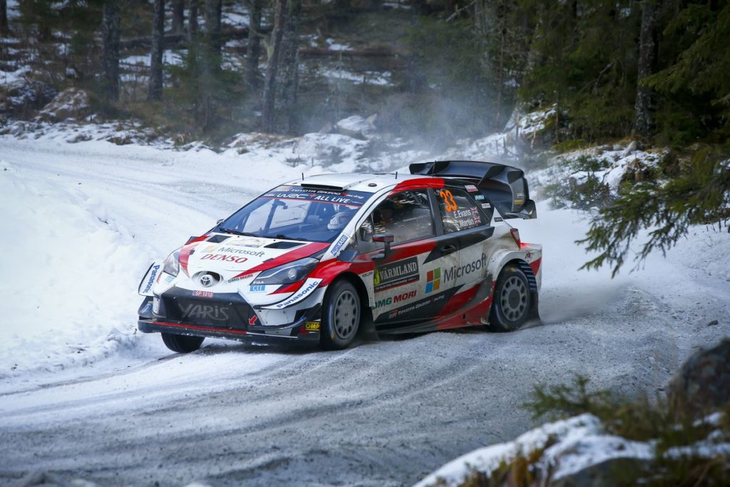 WRC - Evans and the Toyota Yaris WRC one stage away from victory