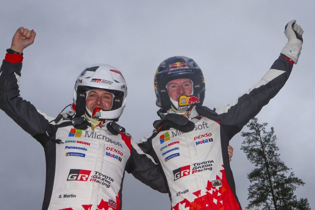 "WRC – Elfyn Evans domine un ""mini"" Rallye de Suède"