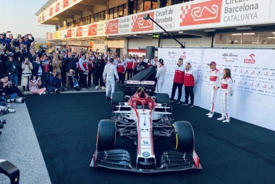 F1 – Saison 2020: Une Alfa Romeo Sauber aux couleurs suisses