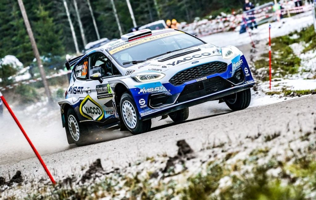 WRC - Fourmaux and Yates show form