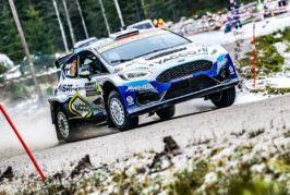 WRC – Fourmaux and Yates show form