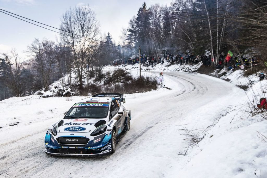 "WRC - Eager to ""snow"" what they can do"