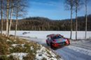 Hyundai Motorsport holds second place at the end of the opening day of Rally Sweden