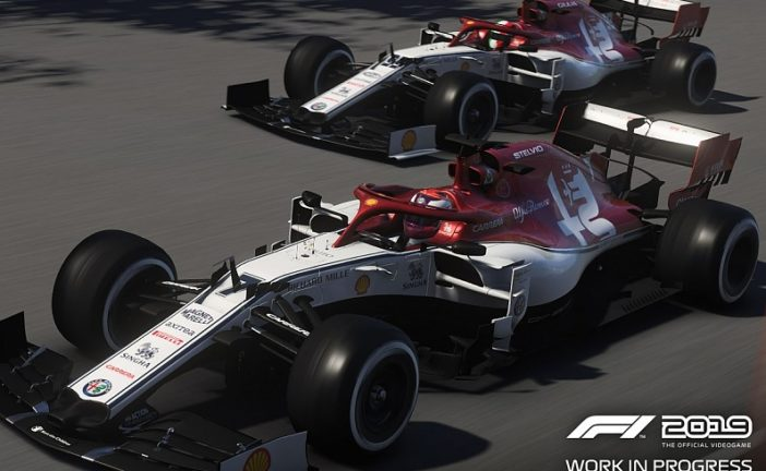 F1 : Codemasters game : Kimi Räikkönen remporte le GP du Canada sur Alfa Romeo Sauber